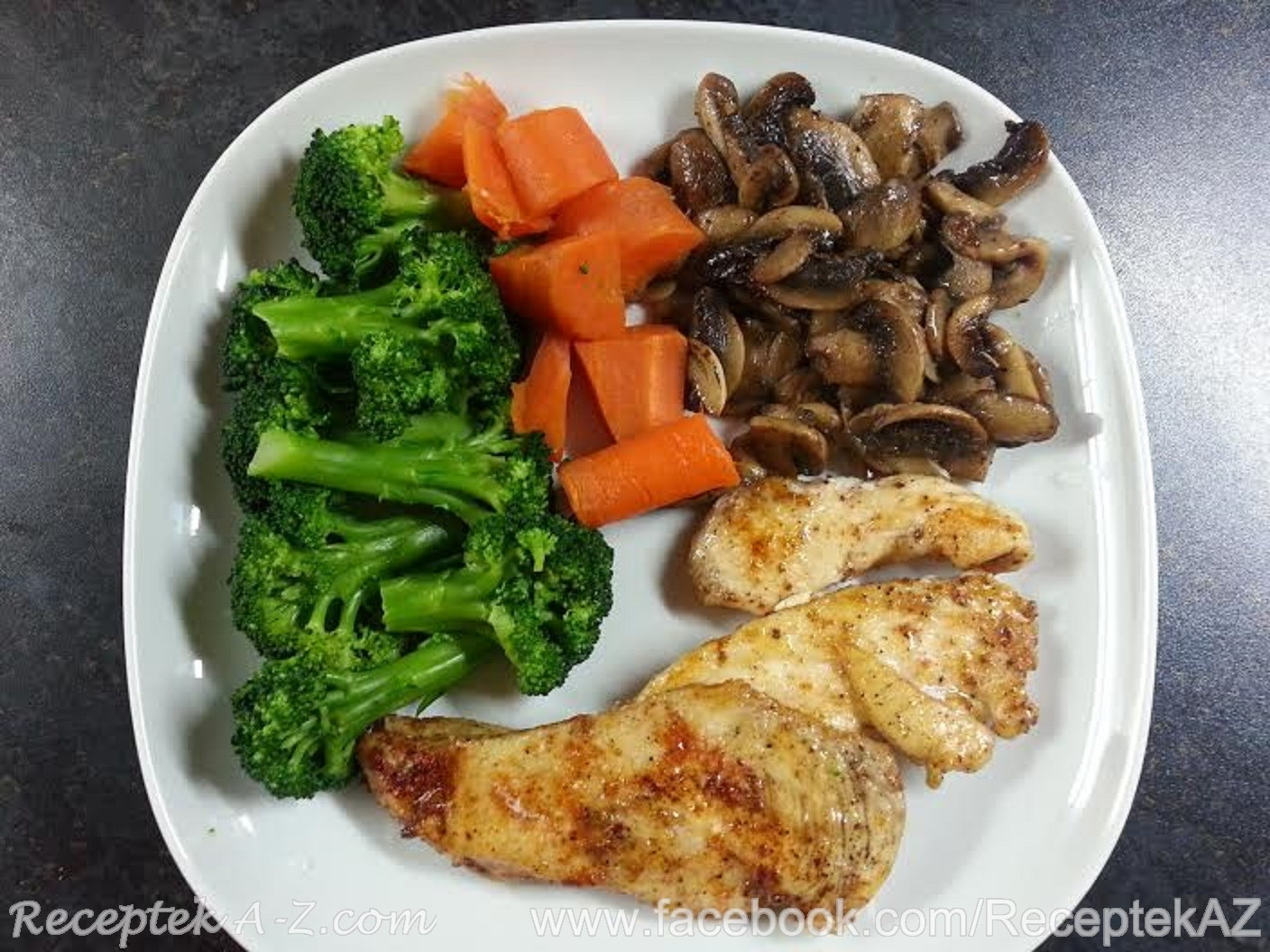 Grilled Chicken Breast With Steamed Vegetables Recipes A Z